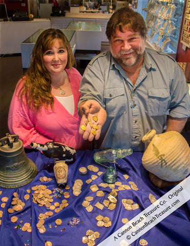 April and Robert Lewis Knecht of Cannon Beach Treasure Company