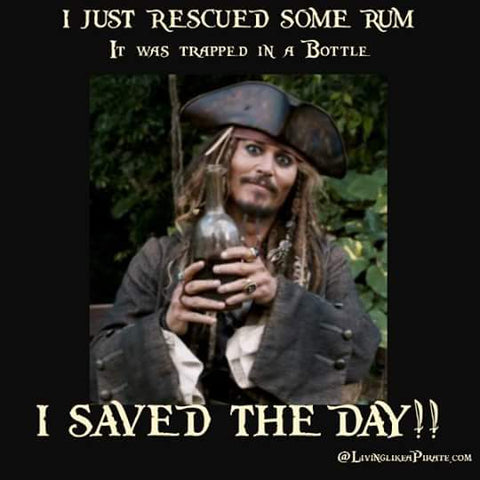 Captain Jack Saves the Rum