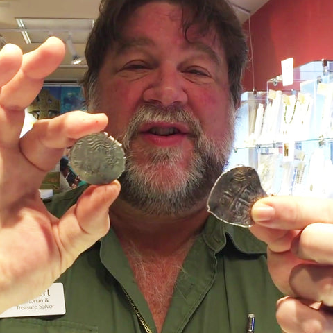 Robert with Pieces of Eight