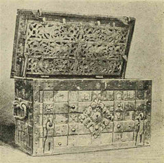 Spanish Shipwreck Coins Treasure Chest for Pieces of Eight