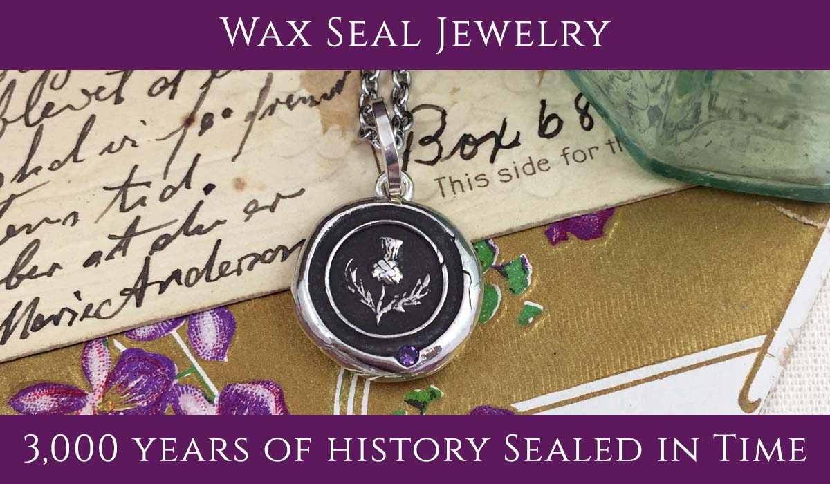 Wax Seal Jewelry