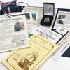 The Documentation Package Included with your 1715 Fleet Treasure Coins & Treasure Coin Jewelry