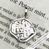"1771 Spanish 1 Reale Pirate ""Piece of Eight"" Sterling Silver Necklace 