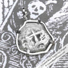 "1758 Spanish 4 Reale Pirate ""Piece of Eight"" Silver Necklace"