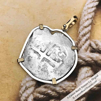 Consolacion Shipwreck Pirate Spanish 4 Reale circa 1675 Piece of Eight Necklace
