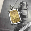 The Coins of the Last Samurai & Shogunate Gold Nibu-Kin Pendant in Sterling Silver | Artifact #5111