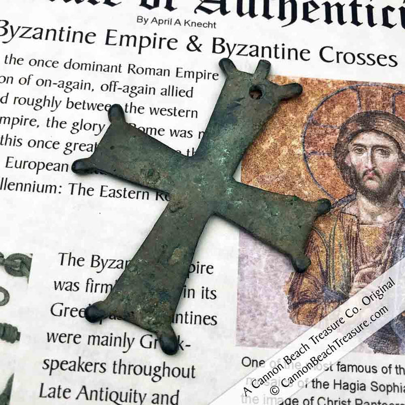 Large Medieval Byzantine Cross circa 1100 AD | Artifact #5116