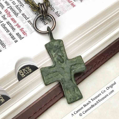 Medieval Byzantine Cross Necklace circa 1100 AD | Artifact #5124