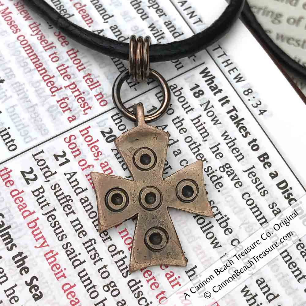 Medieval Byzantine Cross Necklace circa 800 AD