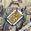 The Coins of the Last Samurai & Shogunate Gold Nishu-Kin Pendant in Sterling Silver