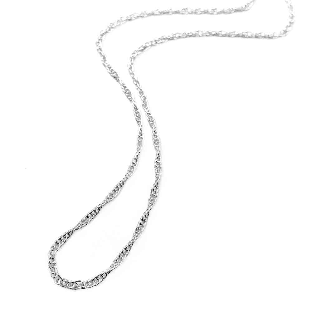 1.8 mm Sterling Silver Double Rope Chain