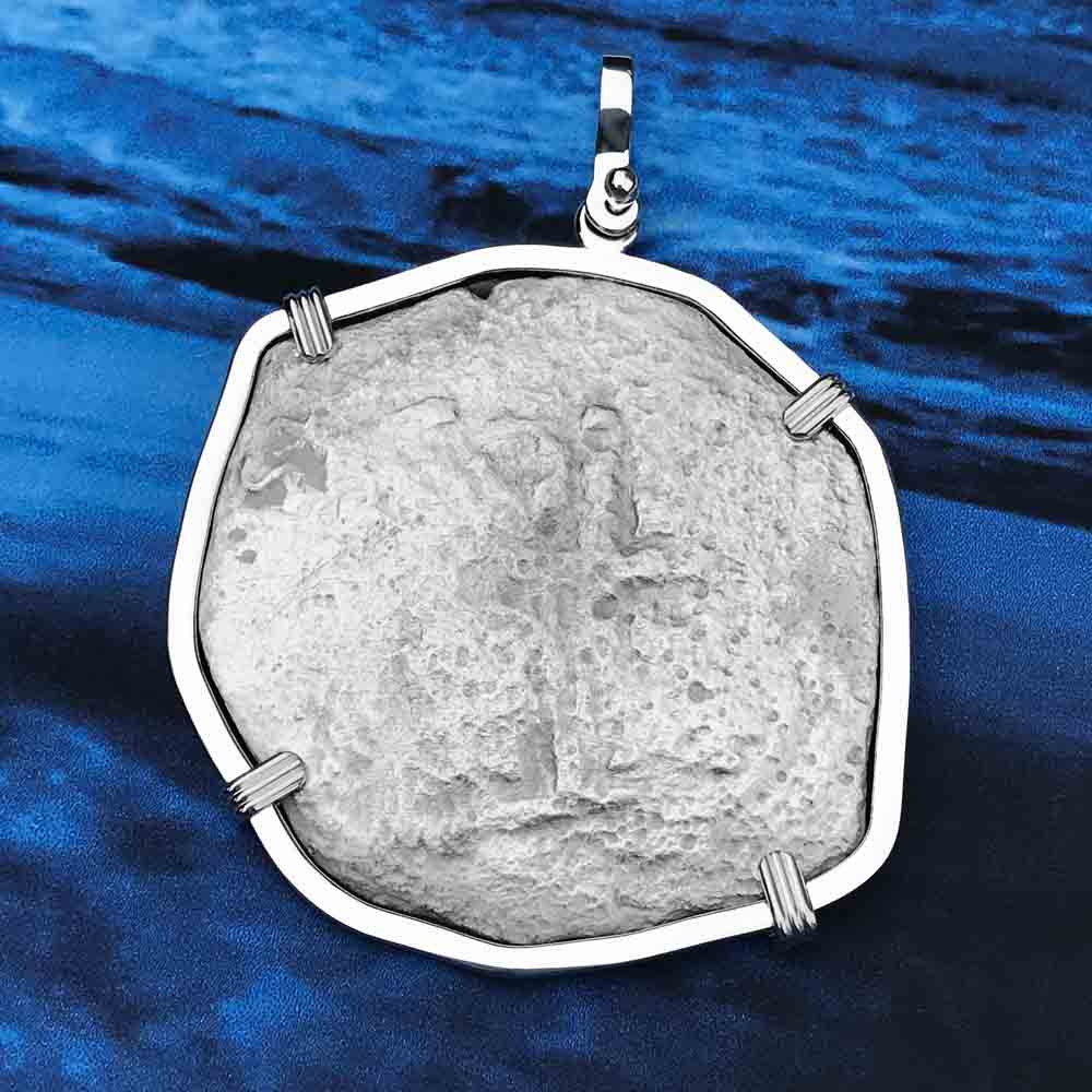 "1670 Consolacion Shipwreck Pirate 8 Reale ""Piece of Eight"" Cob Necklace"