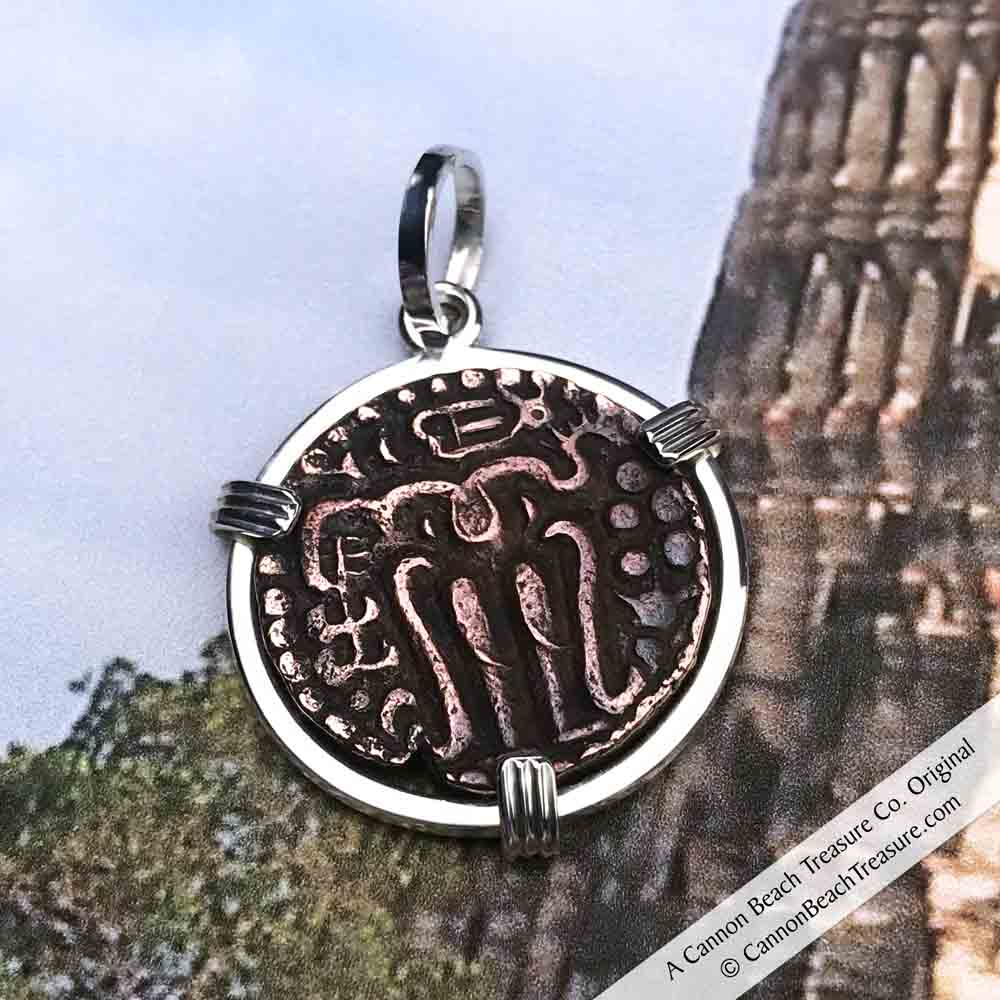 The Medieval Treasure of Polonnaruva - The Good Luck Sri Lanka Coin Necklace | Artifact #3210