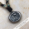 "Limited Authentic Ancient Egyptian ""Mummy Bead"" Edition: Ancient Egyptian Ankh Wax Seal Pendant"