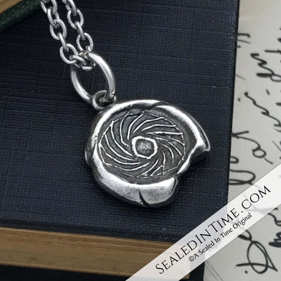Ancient Roman Sol - Sun Wax Seal Pendant