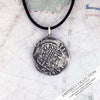 Atocha Shipwreck Coin Silver Spanish Cob Piece of Eight 2 Reale Shipwreck Treasure Coin Museum Pendant