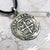 Mexico City 1 Reale Cob Coin Pendant in Shipwreck Silver