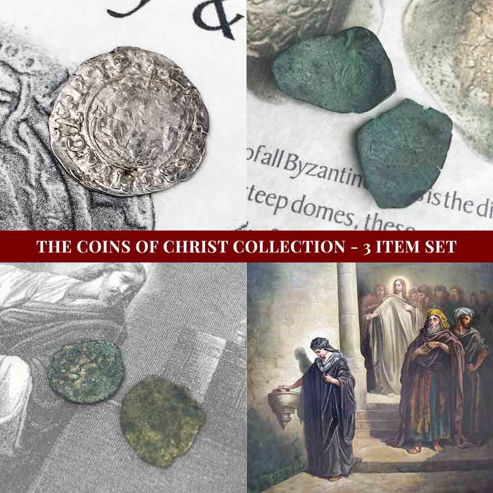 The Coins of Christ Collection - 3 Item Set - Silver and Bronze Coins