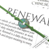 RENEWAL - Rustic Patina Authentic Chinese Shipwreck Coin Wrap Bracelet & Necklace in Grass Green