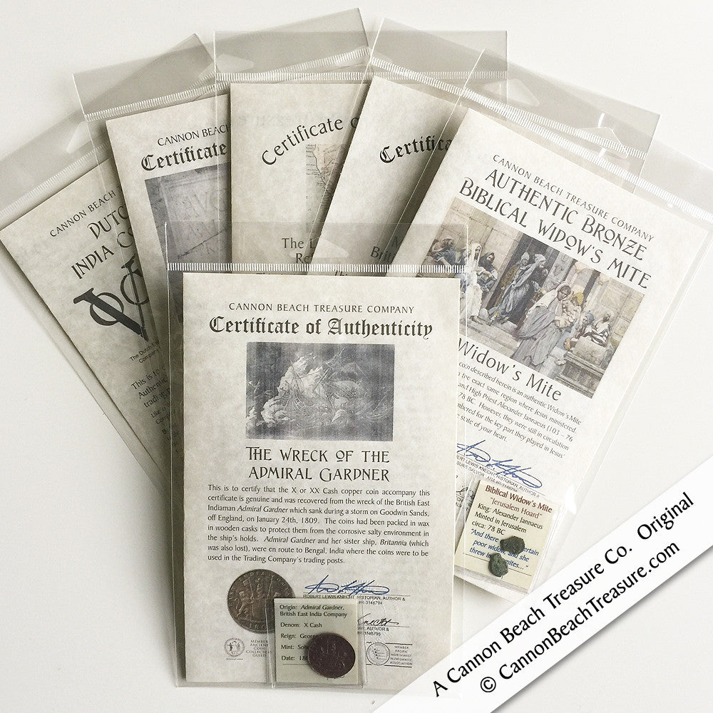 Sunken and Buried Treasure Stocking Stuffers Instant Collection 1