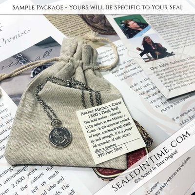 Wax Seal Jewelry Documentation Package