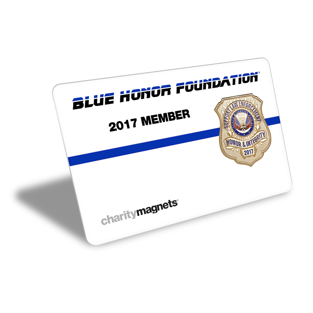 2017 Blue Honor Foundation Annual Membership