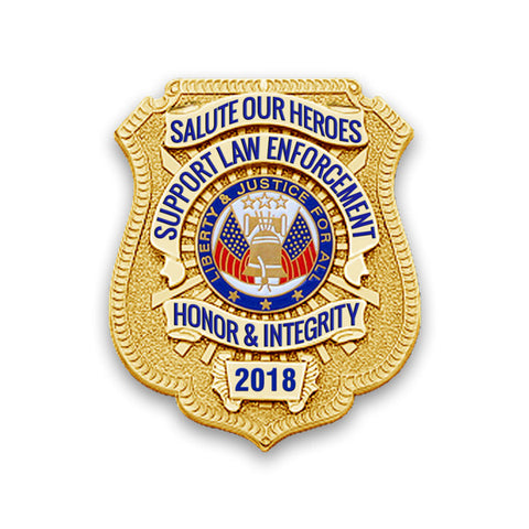 2018 Honor Badge Car Magnet