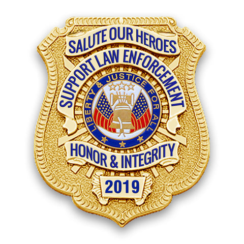 2019 Honor Badge Car Magnet