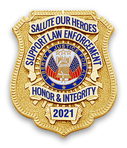 2021 Honor Badge Car Magnet