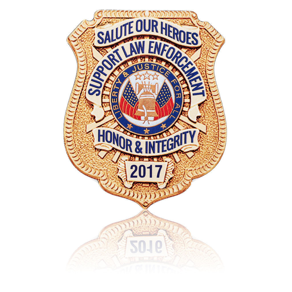 2017 Honor Badge Car Magnet