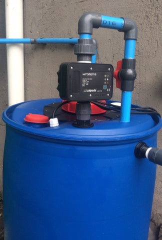 250l Backup water system - Plug and Play