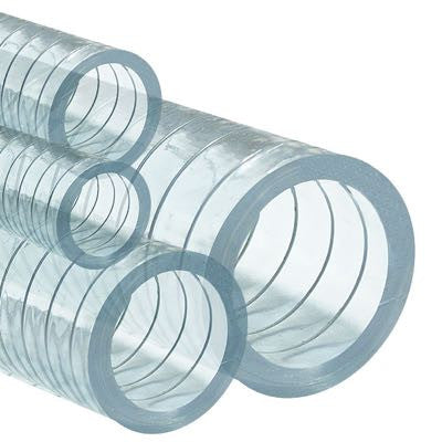 PVC Steel Spring Reinforced Clear Hose