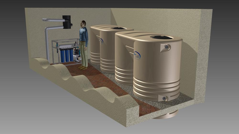 WISY rainwater harvesting equipment
