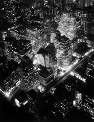 Abbott, Berenice: Night View, New York, 1932