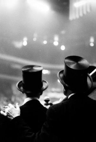 Croner, Ted: Top Hats, Horse Show, Old Madison Square Garden, 1947-48