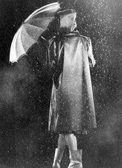 Mili, Gjon: Raincoat for Glamour Magazine, c. 1945