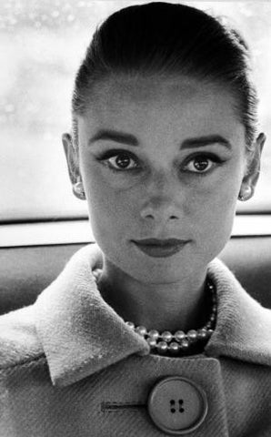 Wolf, Henry: Audrey Hepburn, Close-up Portrait, c.1959