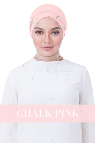 BE LOFA TURBAN LUXE - CHALK PINK