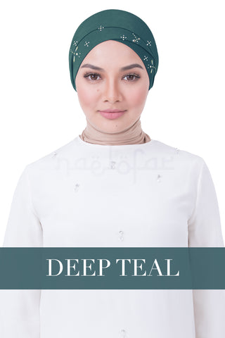 BE LOFA TURBAN LUXE - DEEP TEAL