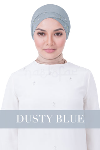 BE LOFA TURBAN LUXE - DUSTY BLUE