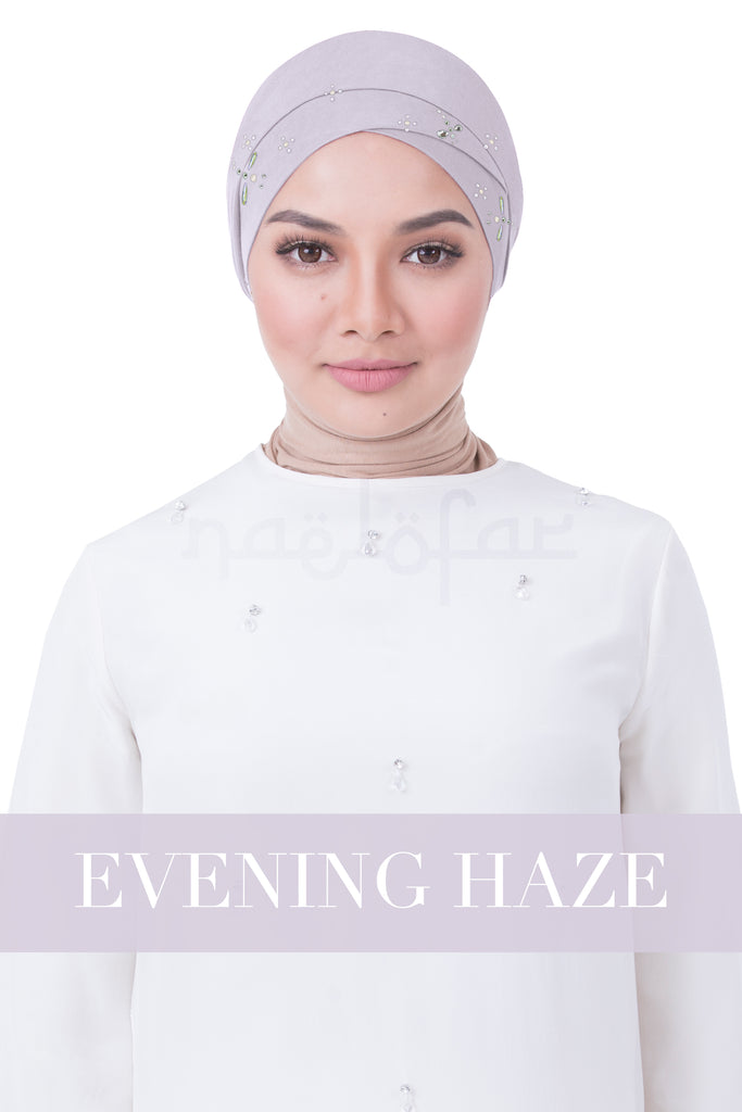 BE LOFA TURBAN LUXE - EVENING HAZE