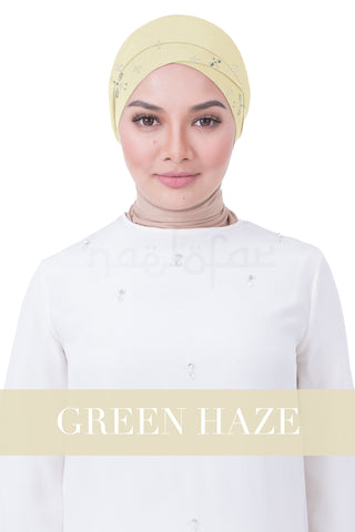 BE LOFA TURBAN LUXE - GREEN HAZE