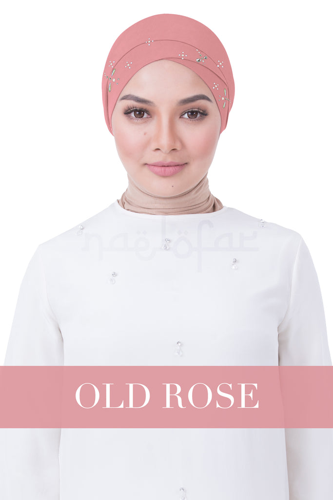 BE LOFA TURBAN LUXE - OLD ROSE