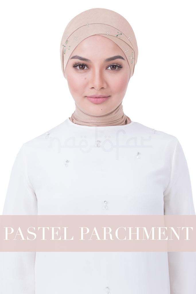 BE LOFA TURBAN LUXE - PASTEL PARCHMENT