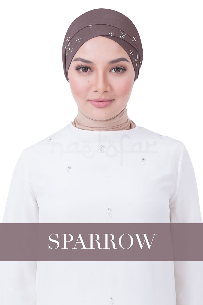 BE LOFA TURBAN LUXE - SPARROW