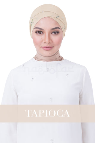 BE LOFA TURBAN LUXE - TAPIOCA