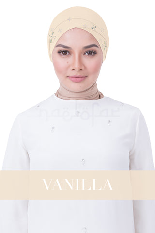 BE LOFA TURBAN LUXE - VANILLA