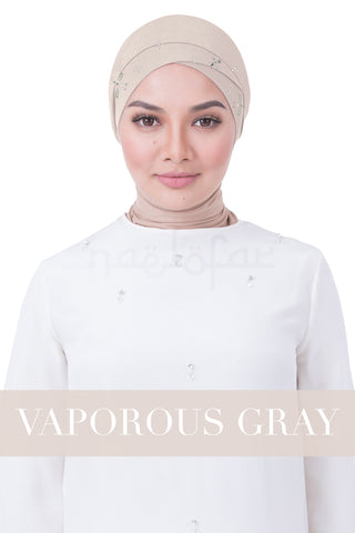 BE LOFA TURBAN LUXE - VAPOROUS GRAY