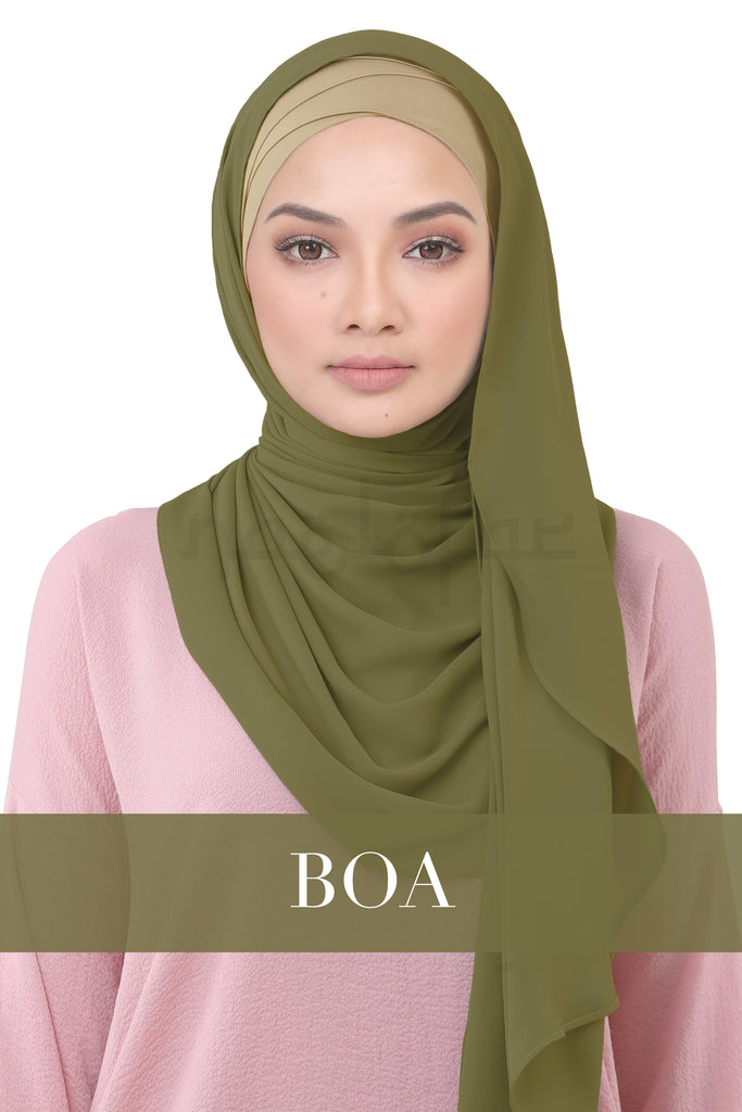 BE LOFA INSTANT KOREAN CHIFFON - BOA