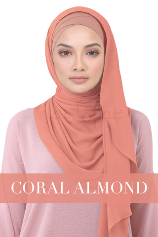 BE LOFA INSTANT - CORAL ALMOND